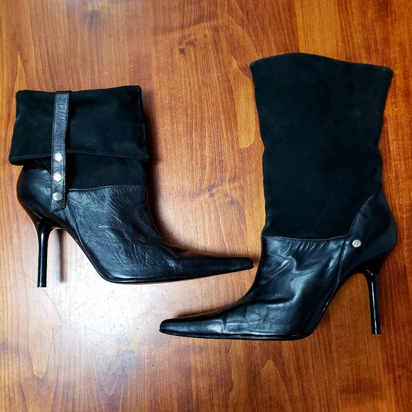 6e2fbfd336b1e Guess by Marciano Shoes   Suedeleather Guess Bootsbooties   Poshmark